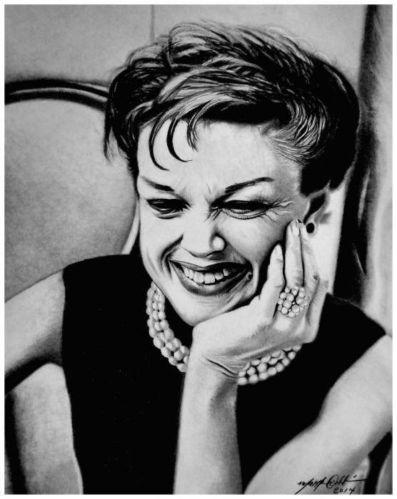 Judy Garland par PencilPerfect